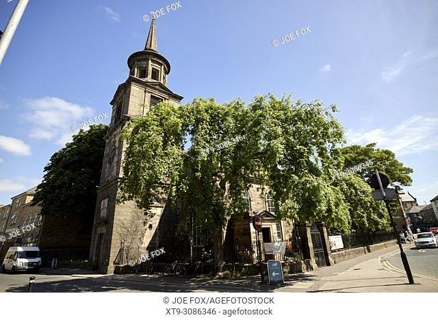 st john the evangelists church lancaster england uk