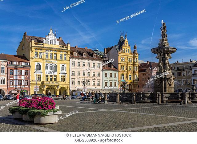 Ceske Budejovice, Czech Republic, Southern Bohemia, Budweis, Europe