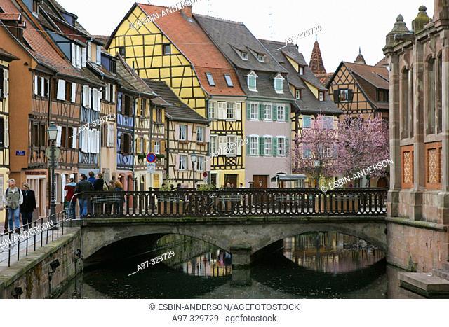 Colmar. Alsace. France