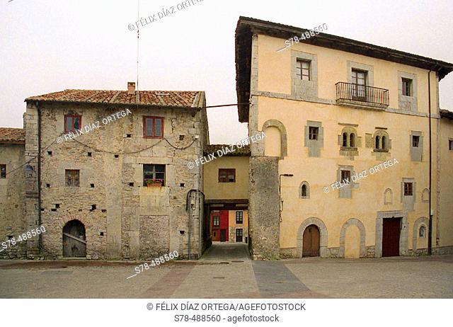 Old town. Llanes, Asturias, Spain