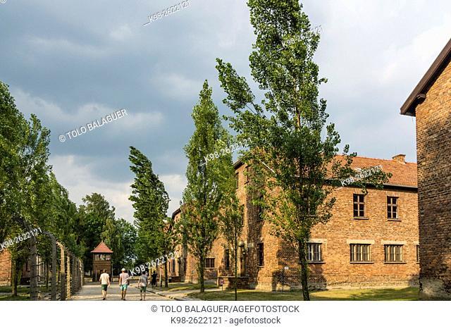 campo de concentracion de Auschwitz I, museo estatal, Oswiecim, Polonia, eastern europe