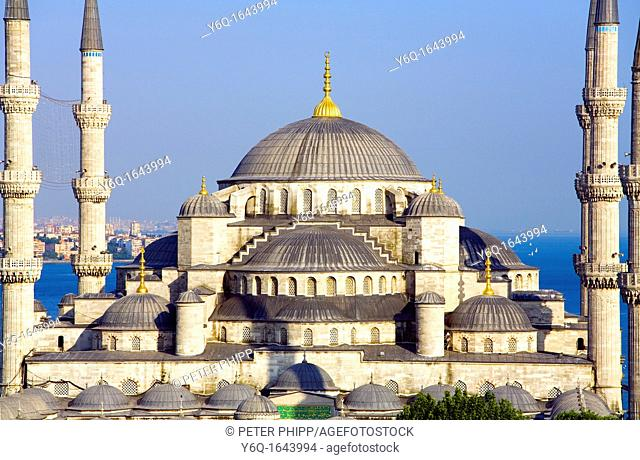 The 'Blue Mosque' Sultan Ahmet Camii  Istanbul