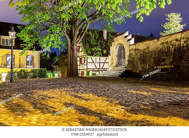 Medieval town Allschwil, Basel, Canton Basel-Landschaft, Switzerland
