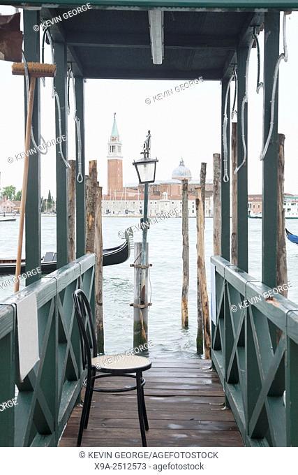 San Giorgio Maggiore Church and Bell Tower, Venice, Italy