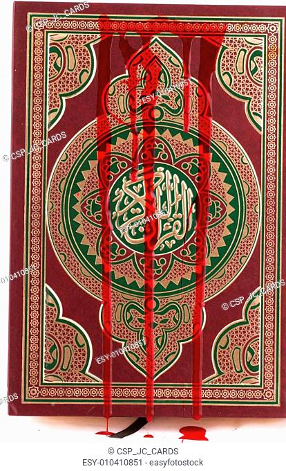 front of the Koran