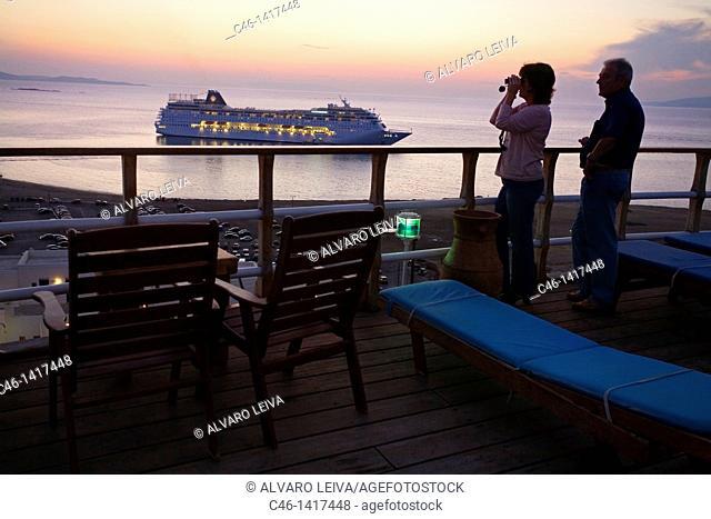 Mykonos  Cyclades Islands  Greece
