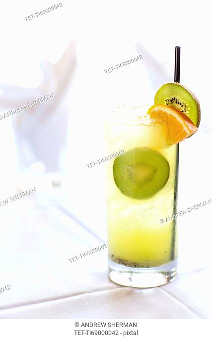 Liquor drink in glass