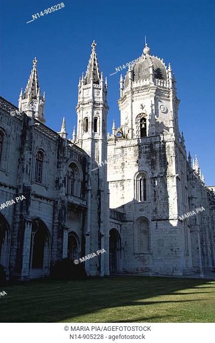 Hieronymites Monastery, Belem, Lisbon, Portugal
