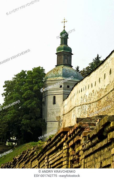 Cornerstone church in Ukrainian Lavra, Kiev