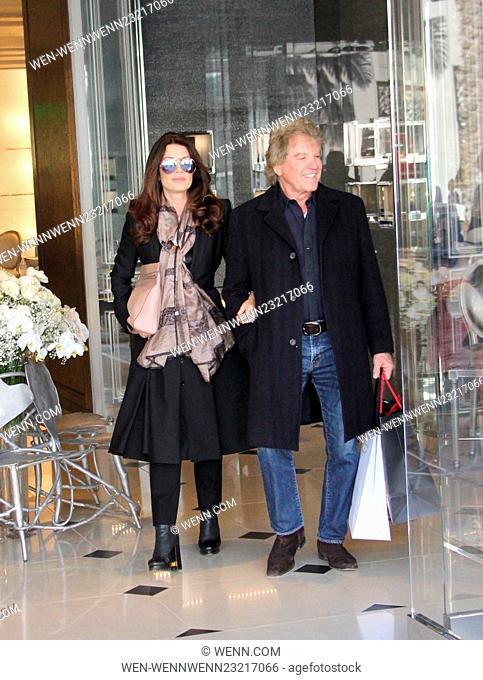 Lisa Vanderpump seen shopping with her husband Ken Todd Featuring: Lisa Vanderpump, Ken Todd Where: Beverly Hills, California