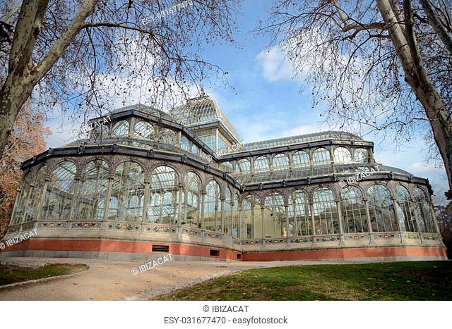 Palacio de Cristal. Located in the centre of the Buen Retiro Park in central Madrid is an imposing glass palace modelled on London's Crystal Palace