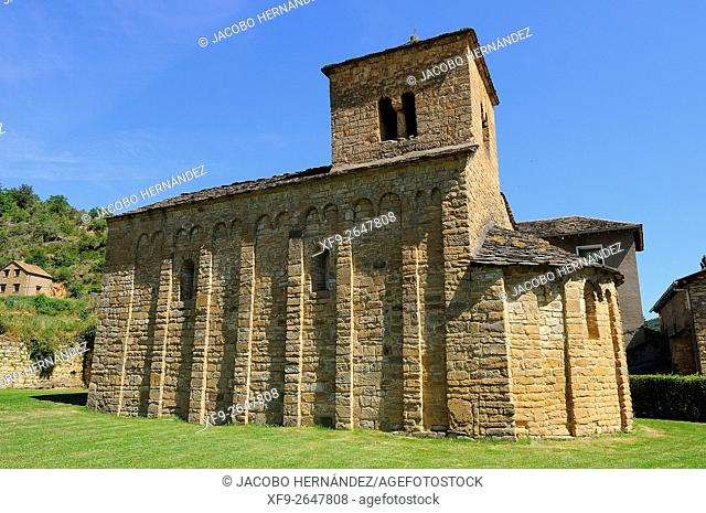 Romanesque church of San Caprasio.Santa Cruz de la Serós.Huesca province.Aragón.Spain