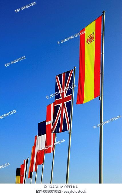 Nationalfahnen Europas