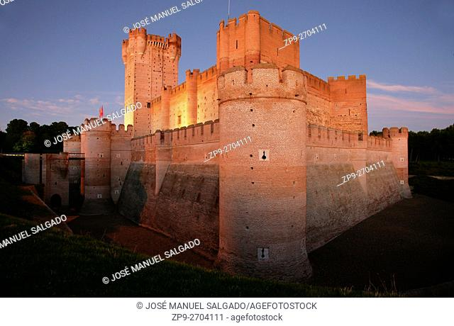 Castle of La Mota, Medina del Campo, Valladolid, Spain
