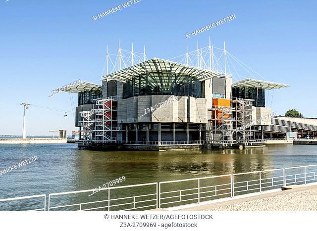 Oceanarium in Lisbon, Portugal, Europe