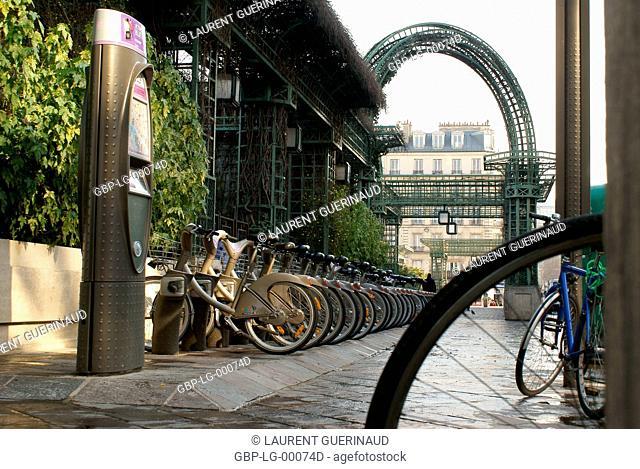 Du Forum des Halles Garden, 1° arrondissement, Ile-de-France, Paris, France