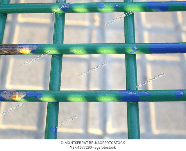 Green grille