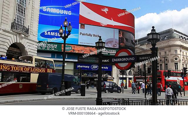 UK, London City, Piccadilly Circus