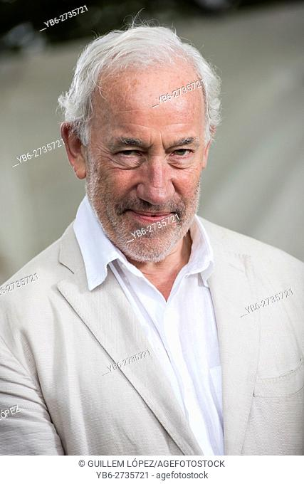 EDINBURGH, SCOTLAND, Thursday 18th, AUGUST 2016: English actor, musician, writer, and theatre director Simon Callow CBE appears at the Edinburgh International...