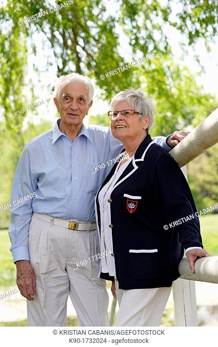 Senior couple, Germany, Europe