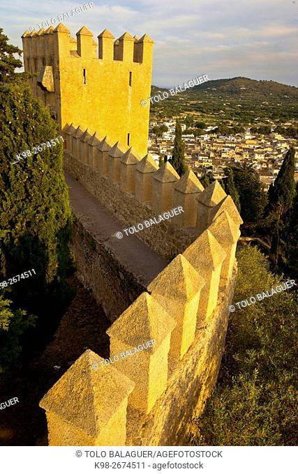 Torre de Sant Miquel. Sant salvador de S'almudaina, siglo XIV. Artà. Majorca, Balearic Islands, Spain