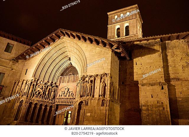 Church of San Bartolomé, Logroño, Way of Saint James, La Rioja, Spain, Europe