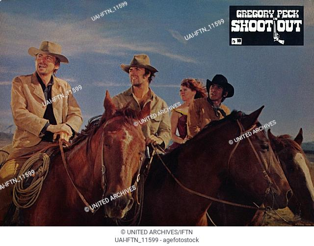 Shoot Out, aka: Abrechnung in Gun Hill, USA 1971, Regie: Henry Hathaway, Szenenfoto