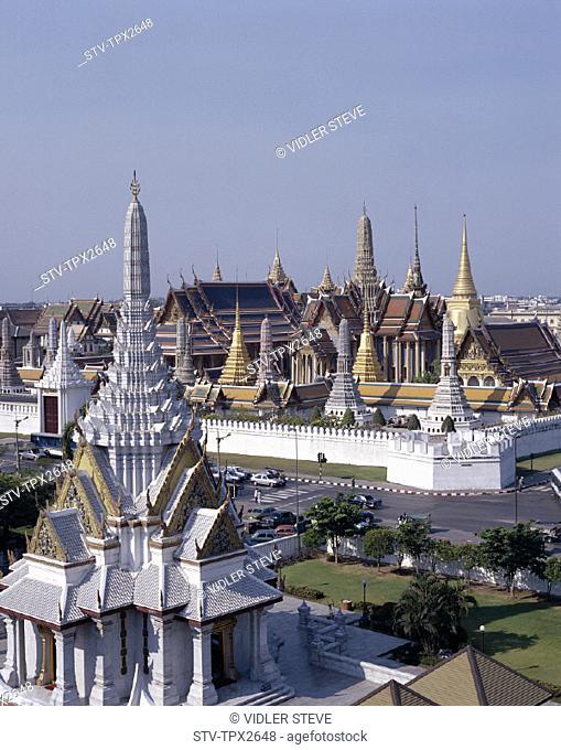Asia, Bangkok, Grand, Holiday, Kaeo, Landmark, Palace, Phra, Thailand, Tourism, Travel, Vacation, Wat