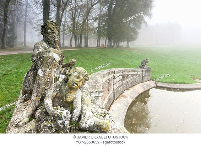 Castle of Chamarande, Essonne, Ile-de-france, France