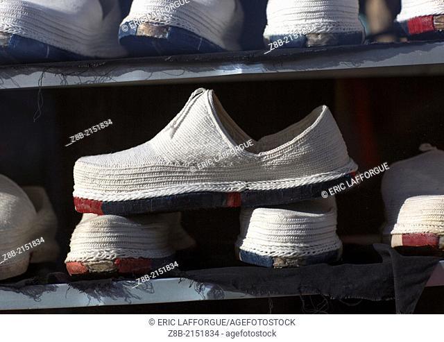 Klash Traditional Shoes, Erbil, Kurdistan, Iraq