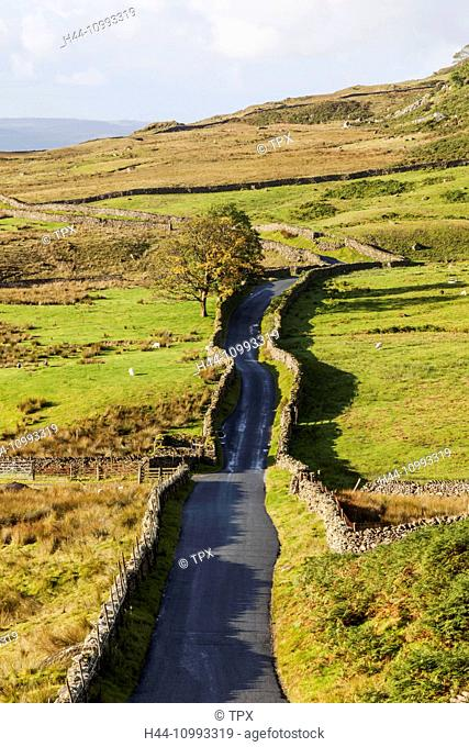England, Cumbria, Lake District, Kirkstone Pass, The Struggle Road to Ambleside