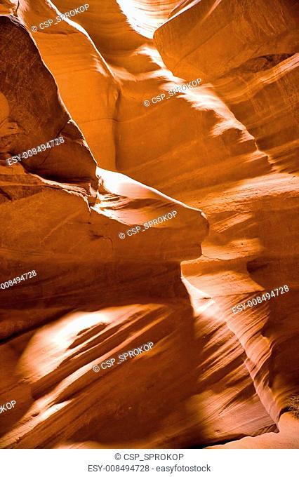 Antelope Canyon Eroded Walls