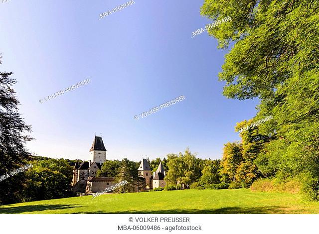 Castle Ottenstein, Austria, Lower Austria, forest quarter, Rastenfeld