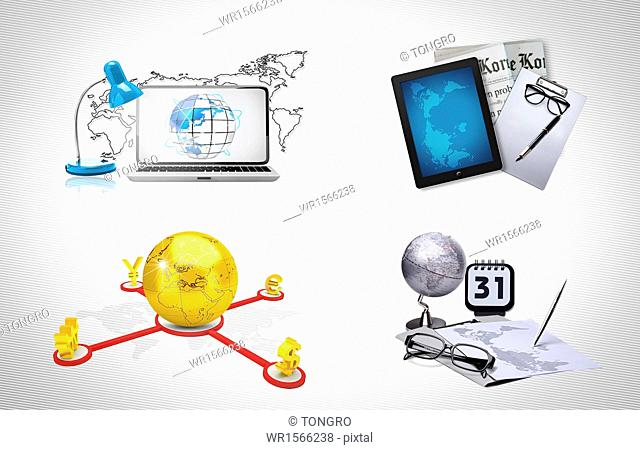 several items related to business and development