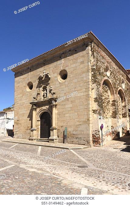 Chuch of San Pedro, Alcantara, Caceres province, Castille and Leon, Spain