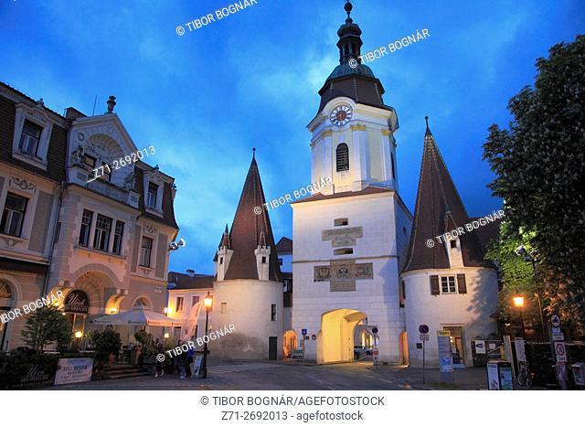 Austria, Lower Austria, Krems, Steiner Tor, Südtiroler Platz,