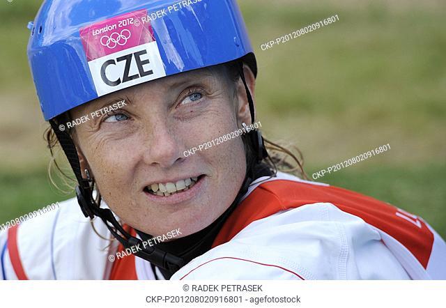 ***FILE PHOTO FROM 2012 Summer Olympics, London, August 2nd, 2012.***  Czech kayaker Stepanka Hilgertova, a double Olympic winner in water slalom
