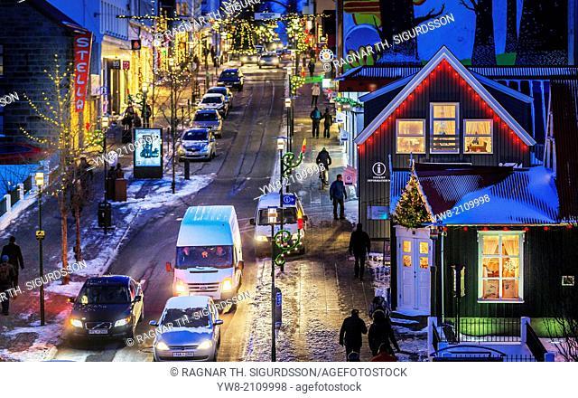 Christmas time, Reykjavik, Iceland