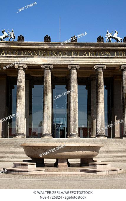 Europe, germany, berlin, altes museum