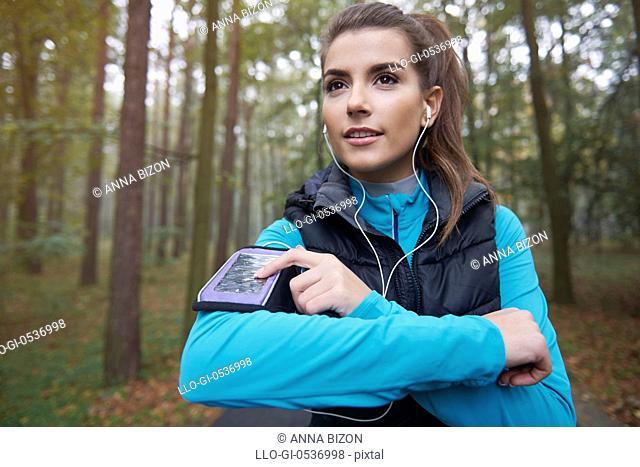 My favourite playlist for running. Debica, Poland