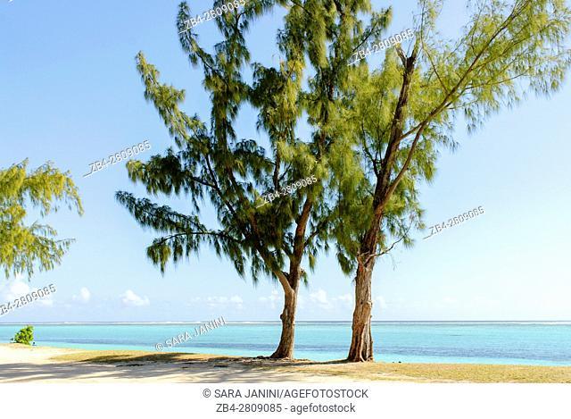Beach near Paradis Hotel & Golf Club, Mauritius, Indian Ocean, Africa