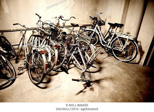 Bicycles, Storage, Basement