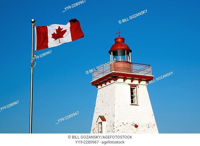 Souris Historic Lighthouse - Souris, Prince Edward Island, Canada