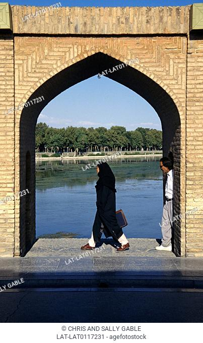 The Si-o-se Pol,the Bridge of 33 Arches,also called the Allah-Verdi Khan Bridge,is a fine example of Safavid bridge design and one of the sites of the ancient...