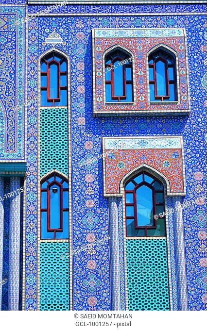 Iranian Mosque in Dubai, UAE