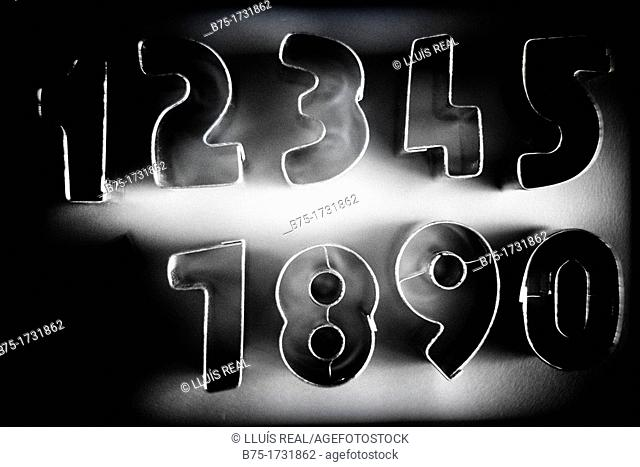 group of consecutive numbers of 1 to 10