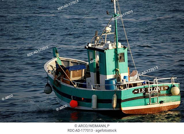 Fishing boat, Paimpol, Brittany, France