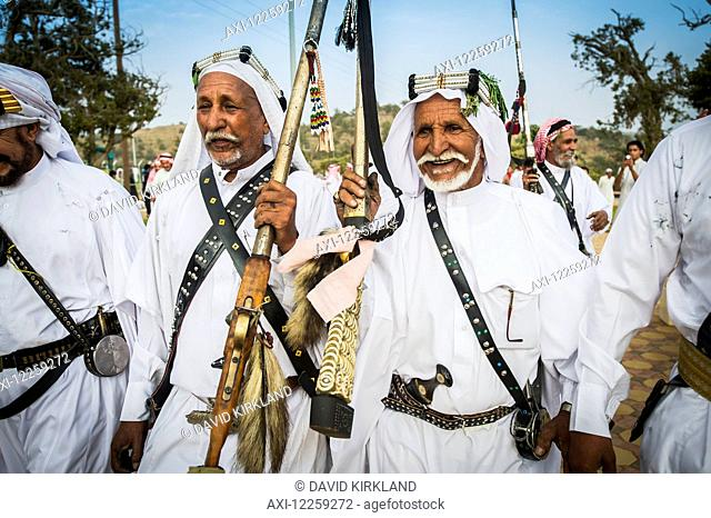 Traditional ceremony; Saudi Arabia