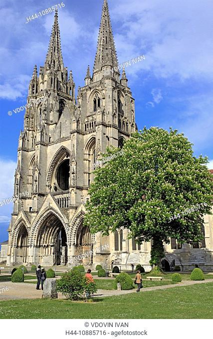 Abbey of St. Jean des Vignes, Soissons, Aisne department, Picardy, France