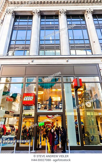 England, London, Leicester Square, Lego Store